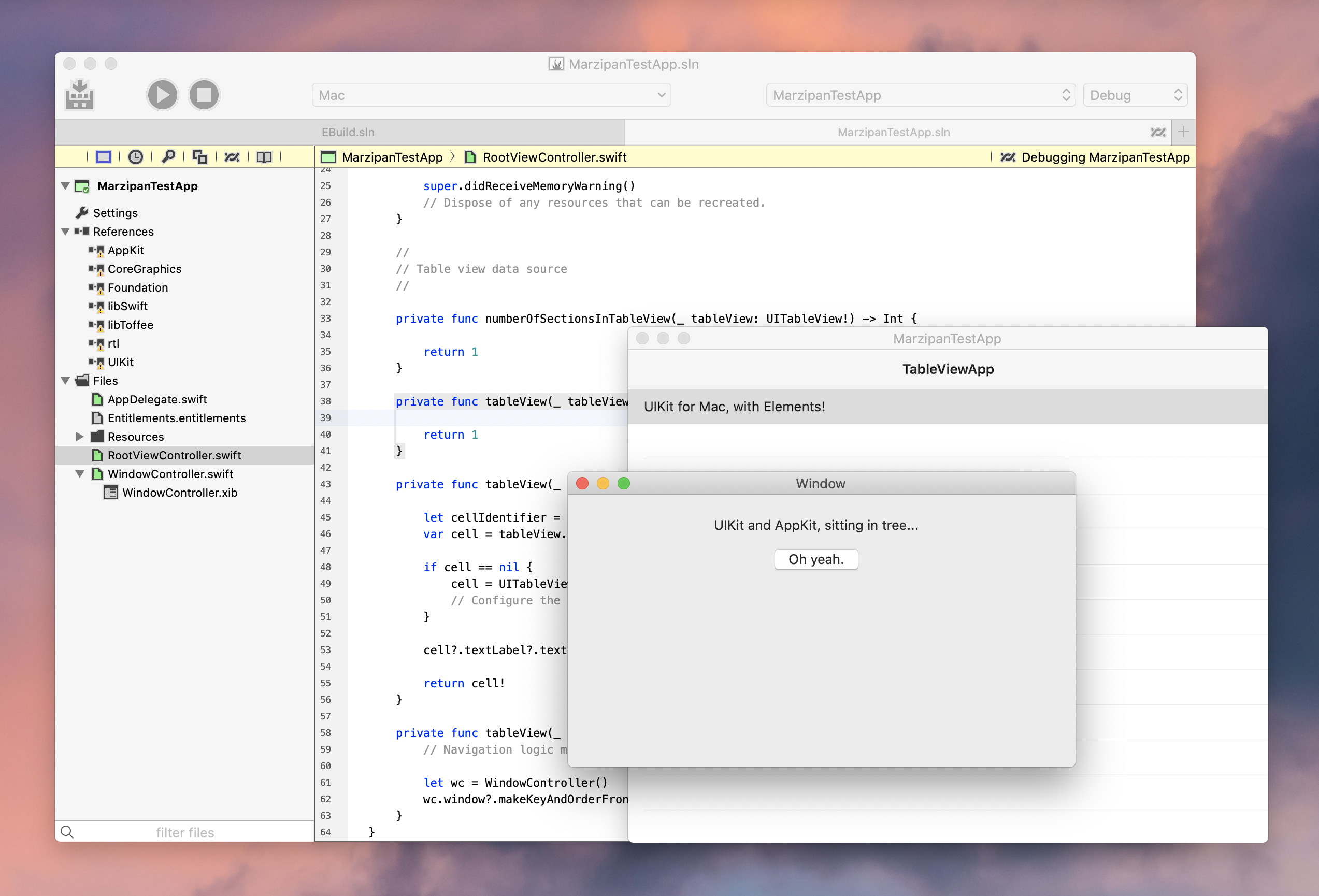 UIKit for Mac with Elements